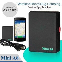 Συσκευή εντοπισμού θέσης Mini A8 Global RealTime Tracker